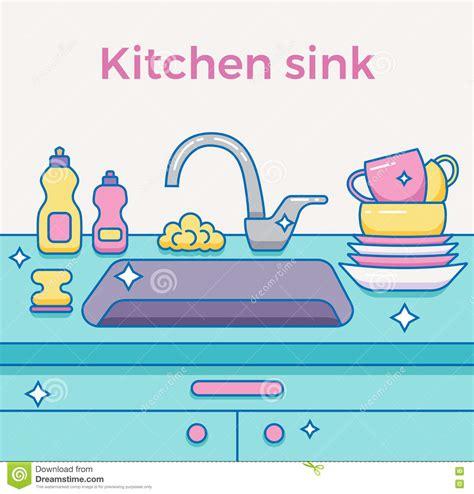 Pull Down Kitchen Faucet cartoon kitchen sink cabinets cartoon stereo cartoon