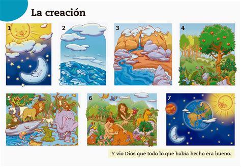 imagenes biblicas de la creacion la creacion de dios buscar con google material para