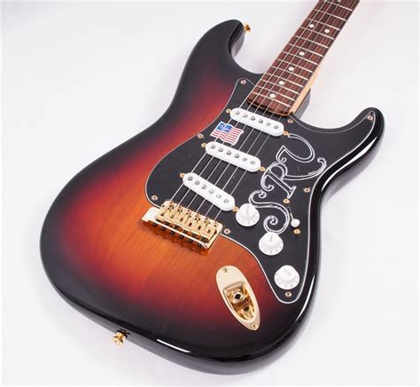 fender stevie ray vaughan strat electric guitar gak