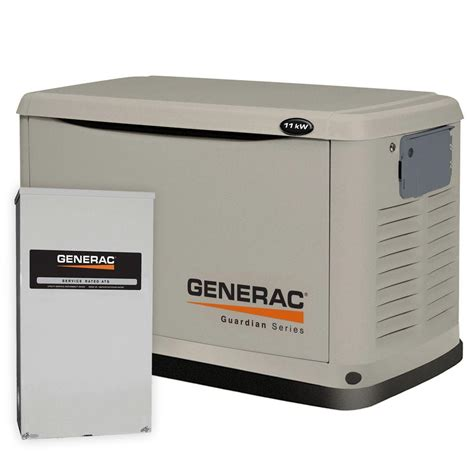 11 000 watt air cooled automatic standby generator with