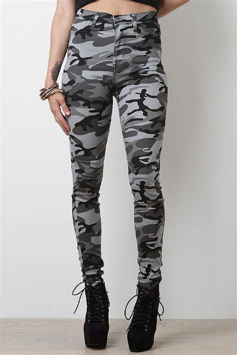 Celana Jogger Pant Army Tentara high waisted camo soldiers and high waist