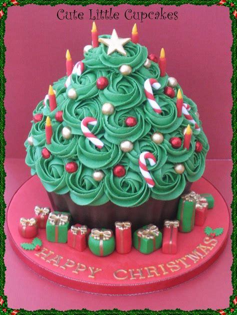 cake inspiration giant cupcake christmas theme