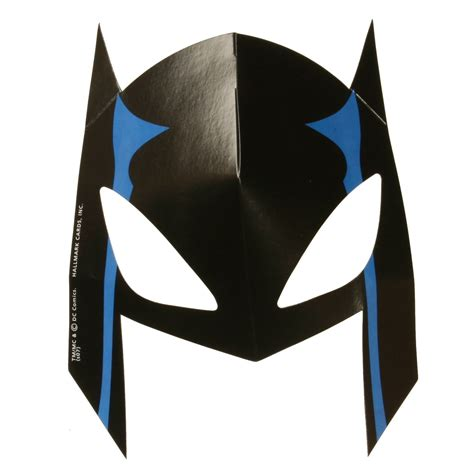 8 best images of batman superhero mask template printable