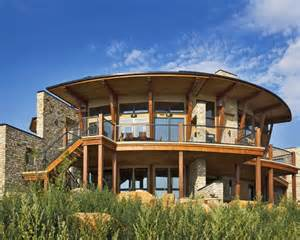 Circular roof home design ideas pictures remodel and decor