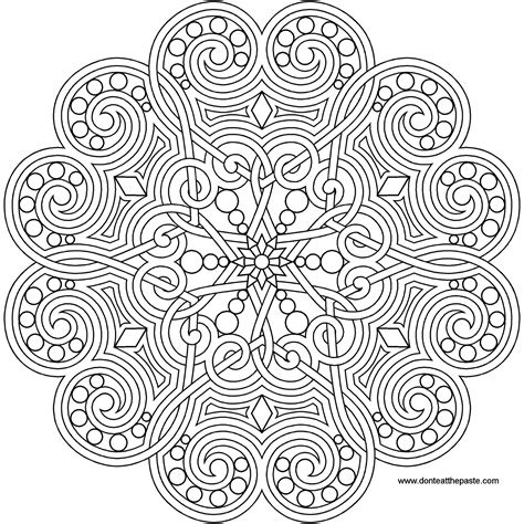 mandala coloring pages hearts don t eat the paste mandala for summer 2015