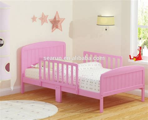 pink kids bed pink wood toddler bed wood children bed buy high quality