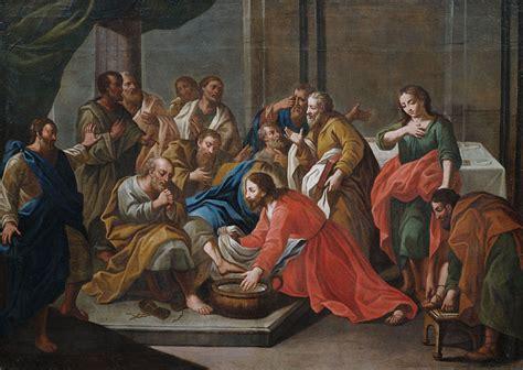 imagenes de jesus lavando los pies compartiendo por amor marzo 2015