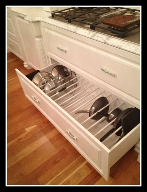 pots and pans drawer pots and pans storage home sweet home