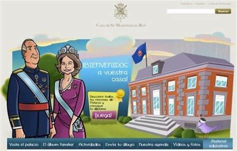 casa reale spagnola la casa reale spagnola apre un area infantile nel suo sito