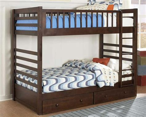 Log Bunk Beds With Trundle Wooden Bunk Bed Wooden Bunk Beds With Trundle Image Of Log Bunk Beds With