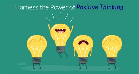 Power Of Positive Thinking harness the power of positive thinking