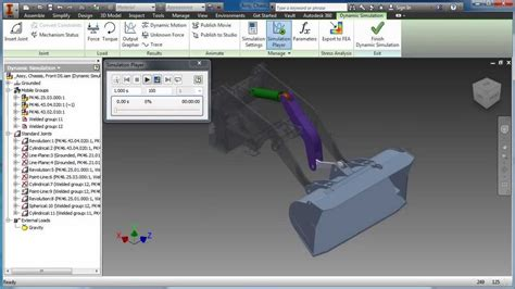Inventor Auto Desk by Product Design Suite Test Drive Simulation Inventor