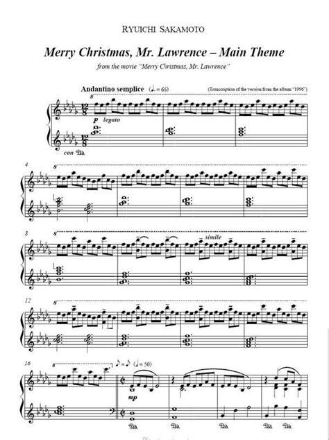 merry christmas  lawrence soundtrack ryuichi sakamoto forbidden colours musica