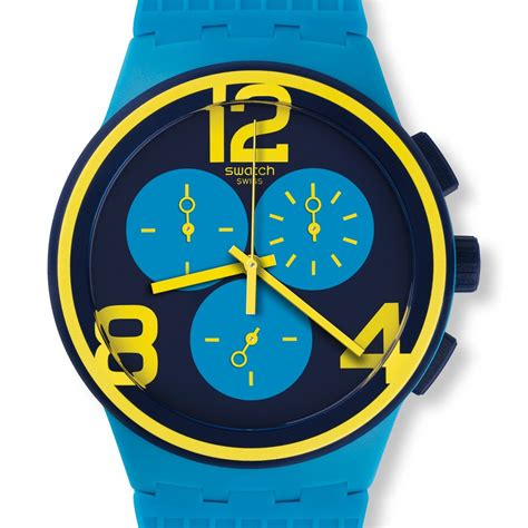 Swatch Swiss Original Suss100 swatch watches new chrono plastic swatch on your