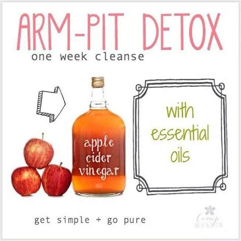 How Does Armpit Detox Take by Instagram Post By Day Healthierwithheatherday