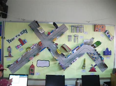 classroom layout ks2 city model display classroom display class display
