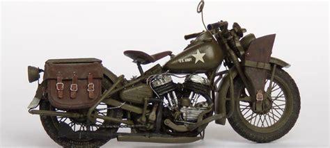 Modell Motorrad Harley by Motorcycle Model Harley Davidson Wla From Miniart Kit