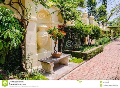 garden dreams garden of dreams kathmandu stock image image 47076667