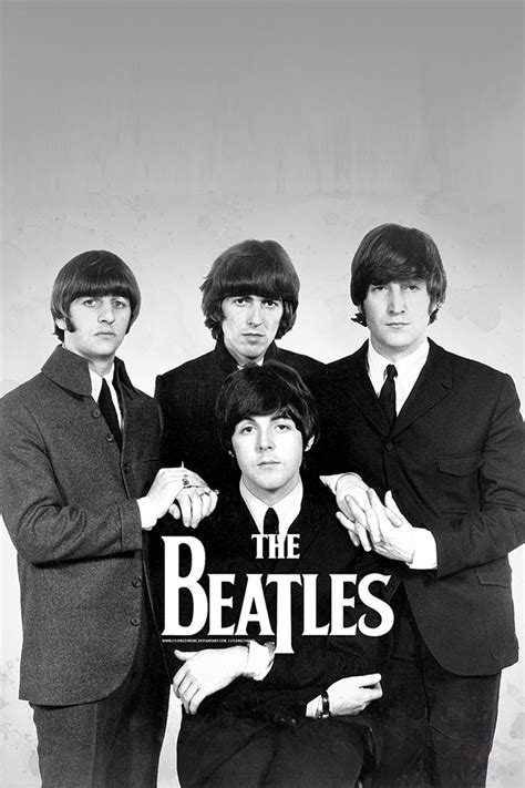 wallpaper iphone 5 the beatles freeios7 the beatles posing parallax hd iphone ipad