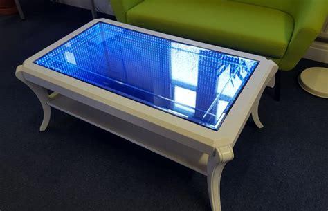 infinity mirror computer desk infinity mirror desk desk design ideas