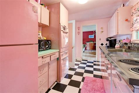 pink kitchen ideas interior design trends 2017 pink kitchen