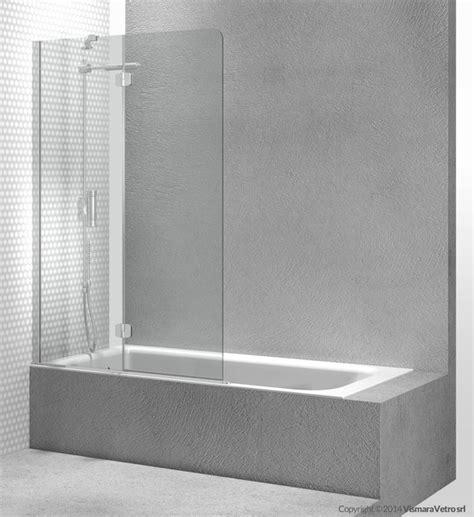 pareti vasca bagno parete per vasca in vetro temperato sintesi pv by