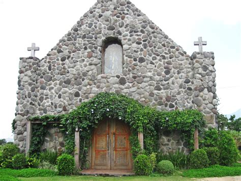church   stones  batanes island philippines
