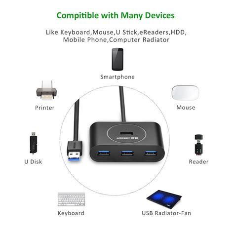 Ugreen 4 Port Usb 3 0 Hub ugreen 4 port speed usb hub test klein leicht und