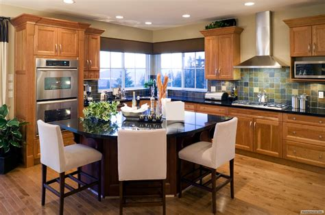painted open plan kitchen traditional kitchen diner traditional arts crafts kitchen remodeled by marotte