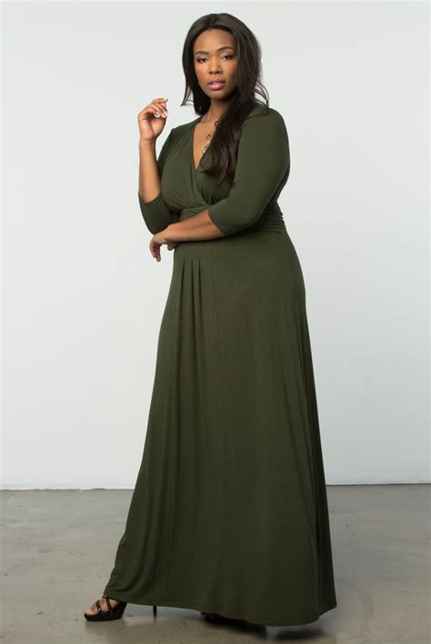 Maxy Dress Lucia Maxy Limited fall in with our olive you plus size desert maxi dress classic style with an on trend
