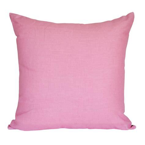 pink cusions linen sugar pink cushion 45x45cm hupper