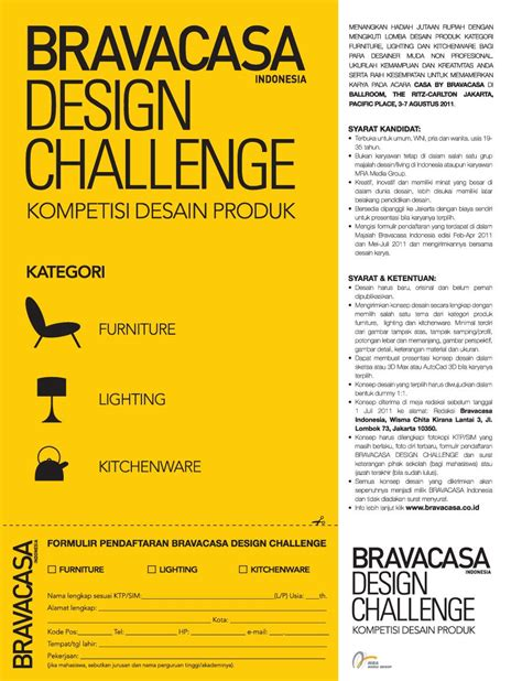 indonesia design challenge kompetisi desain bravacasa design challenge komunitas