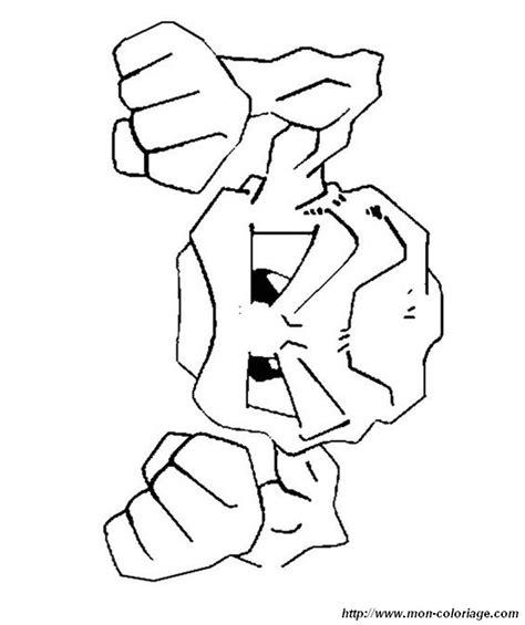 pokemon coloring pages geodude coloring pokemon page geodude