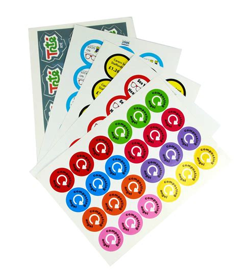 Paper To Make Stickers - stickers on sheets stickers tax discs badger design