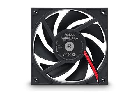 one stop fan ekwb releases new varder evo fan with start stop function