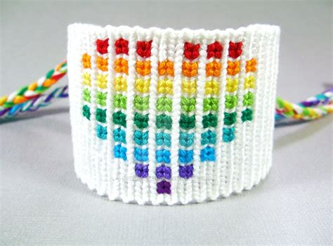 heart pattern friendship bracelet youtube rainbow pixelated heart friendship bracelet by