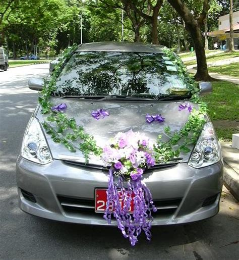 decorate your car for simple wedding car decorations pictures wedding flowers 2013