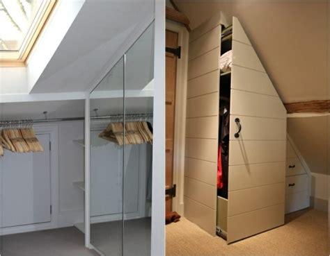 begehbarer kleiderschrank unter dachschr 228 ge ideen und - Begehbarer Kleiderschrank Dachschräge