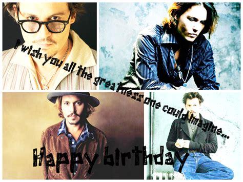 Johnny Depp Happy Birthday Card Johnny Depp Birthday For Pinterest