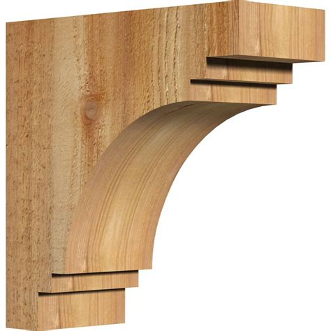 Rustic Wood Corbels ekena millwork corpec00 pescadero rustic timber wood corbel corrcorpec00 architecturaldepot