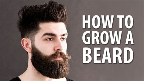 how to raise a how to grow a beard faster naturally grooming tips for