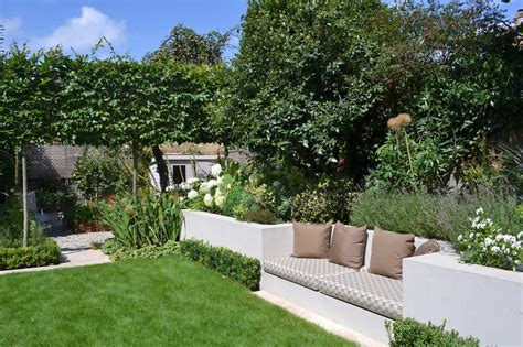 family garden lovely low maintenance family garden with raised bed for