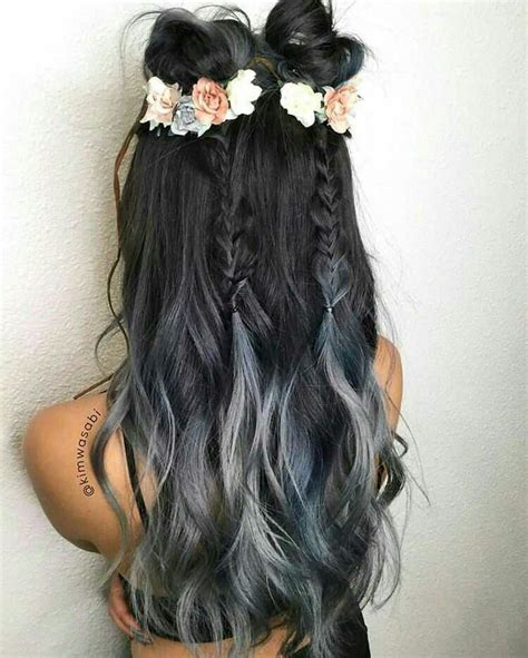 ombre double top grey the 25 best ideas about silver ombre on pinterest