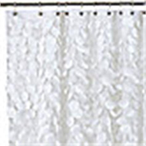 gigi shower curtain buy gigi 72 inch x 72 inch fabric shower curtain in white