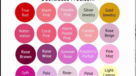 summer color palette light summer color palette bright cool light