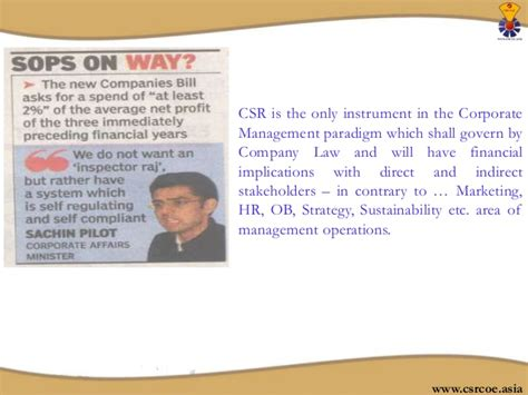Scope Of Mba In Operations by Why Mba In Corporate Social Responsibility
