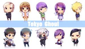 Tokyo ghoul chibi icon folder and render by princedork on deviantart
