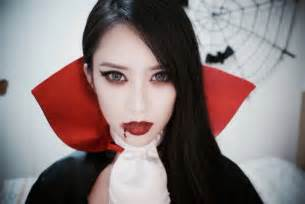 Girls Vampire Costume Pretty Beautiful Amp Scary Vampire Halloween Makeup Ideas