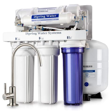 Sink Osmosis Water Filter System by Ispring Maximum Performance Sink Osmosis