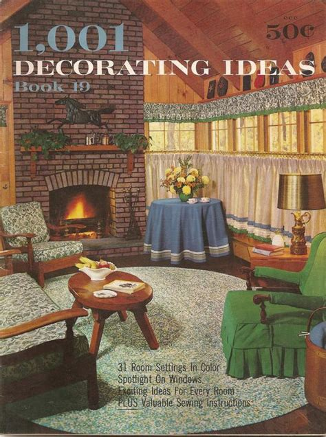 home decoration booklet  vintage consos
